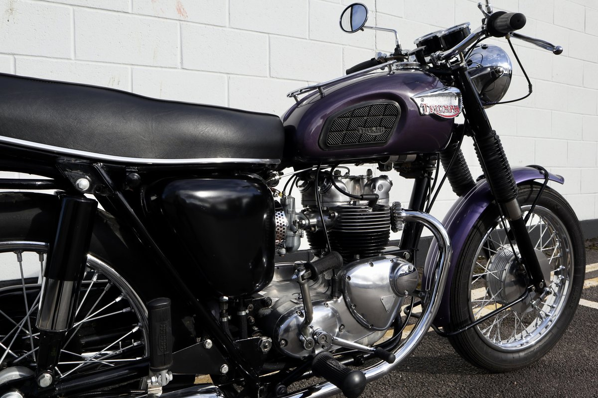 1968 Triumph T100S 500cc - Matching Numbers For Sale (picture 5 of 6)