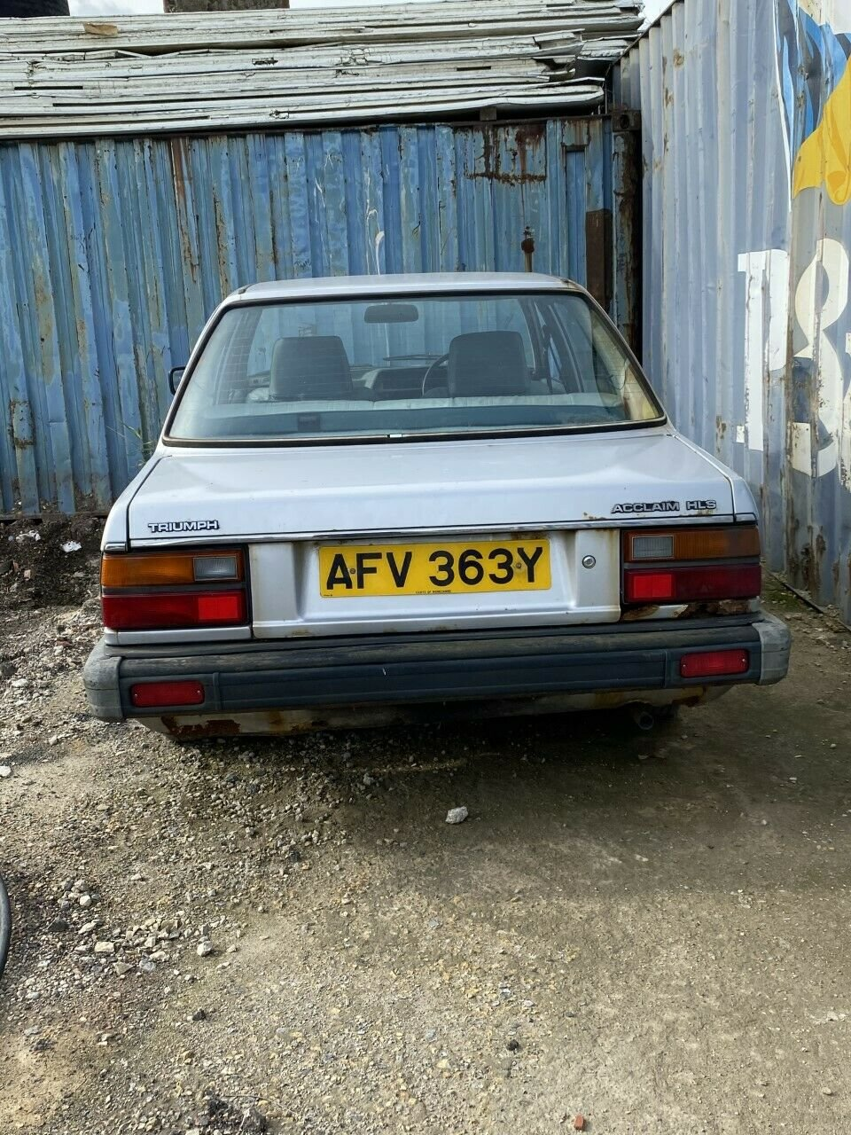 1983 TRIUMPH ACCLAIM For Sale (picture 2 of 6)