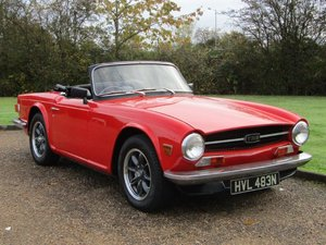 Picture of 1975 Triumph TR6 at ACA 7th November