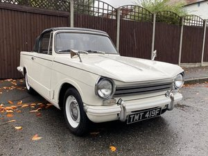 Picture of 1968 Triumph Herald 13/60 Convertible at ACA 7th November