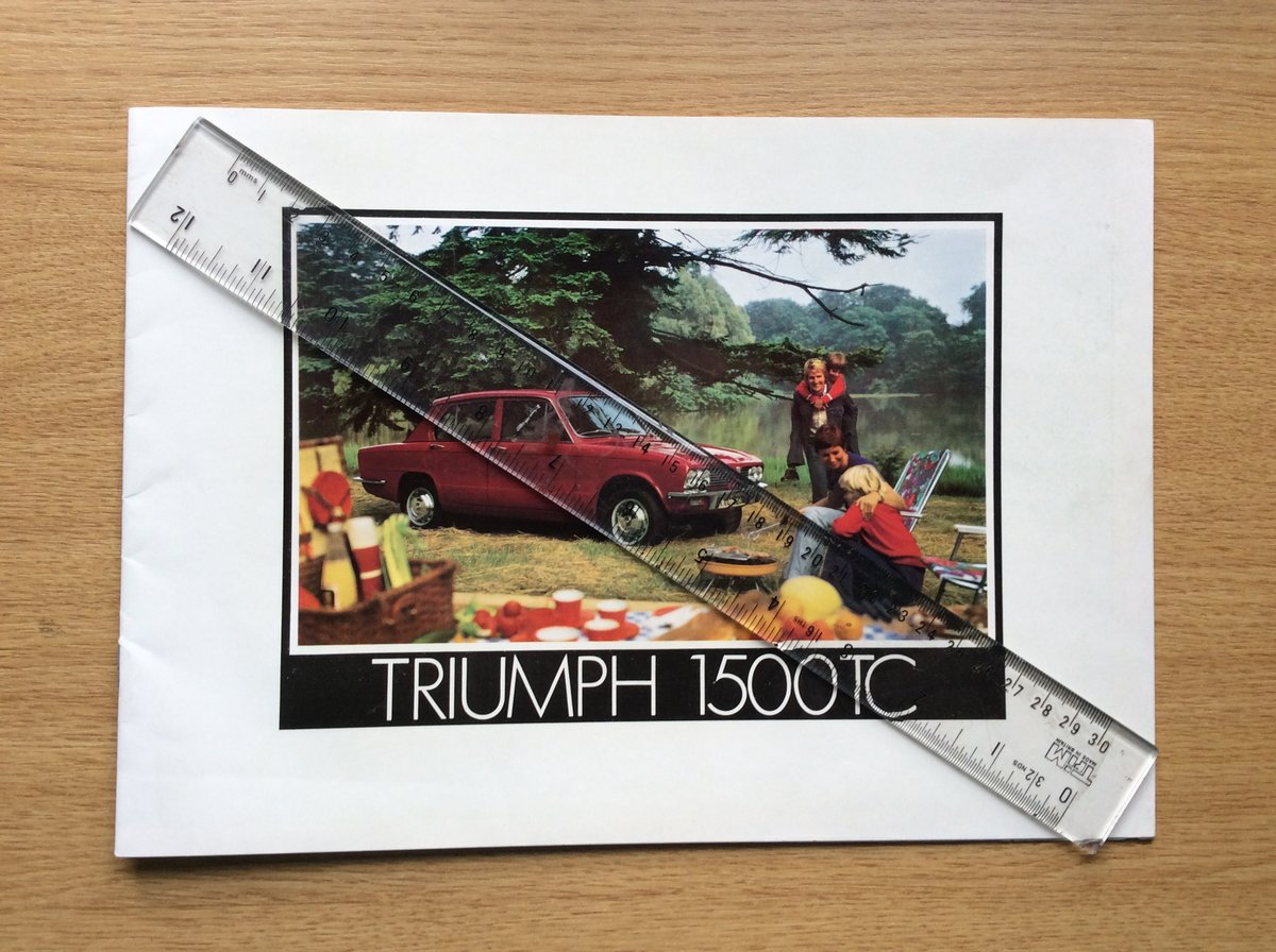 Triumph Sales brochure dated 12/73 For Sale (picture 1 of 3)