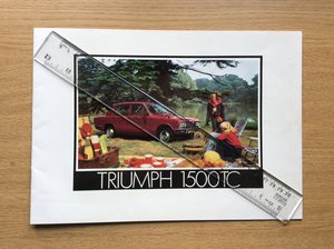 Triumph Sales brochure dated 12/73