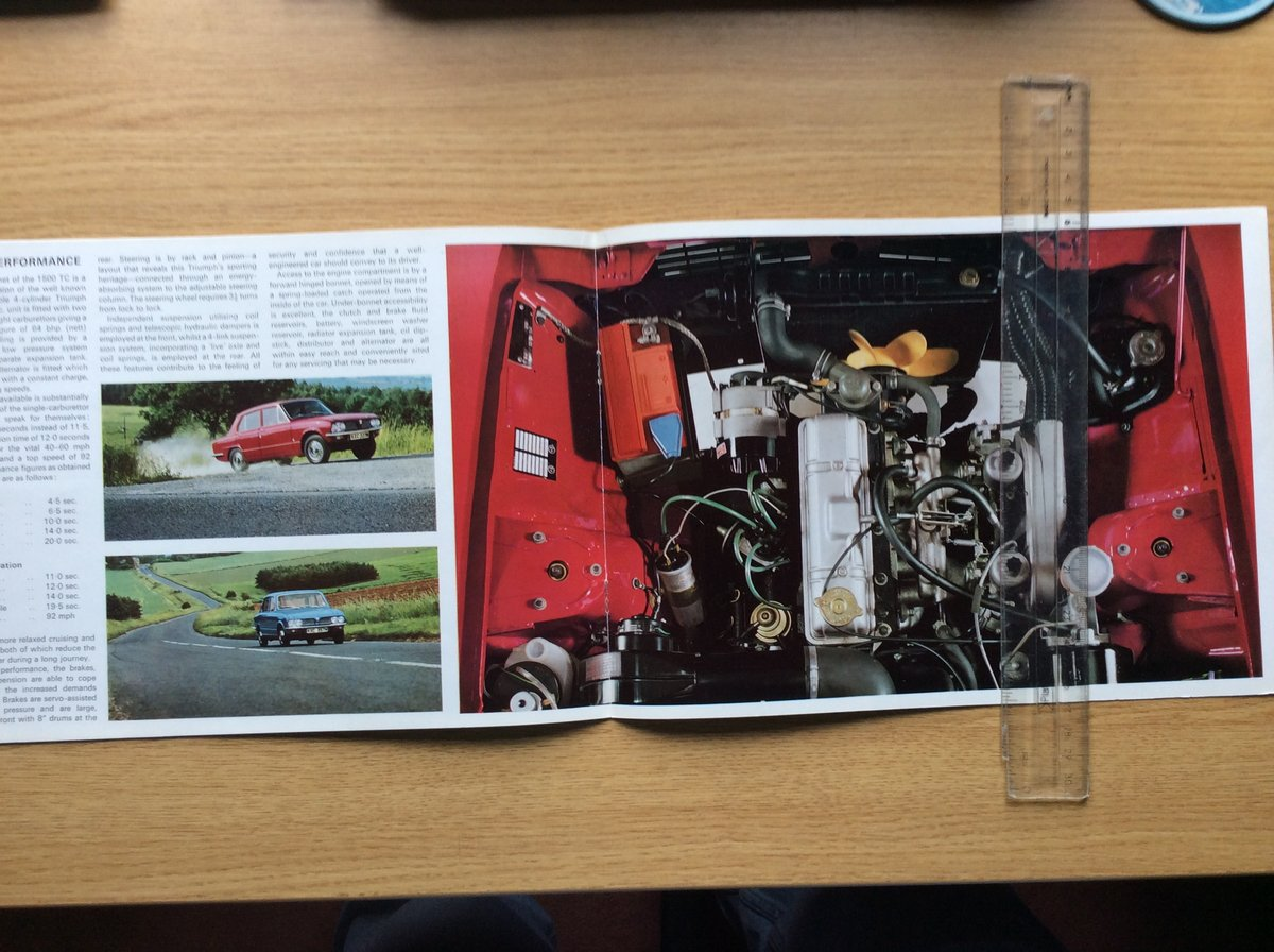 Triumph Sales brochure dated 12/73 For Sale (picture 2 of 3)