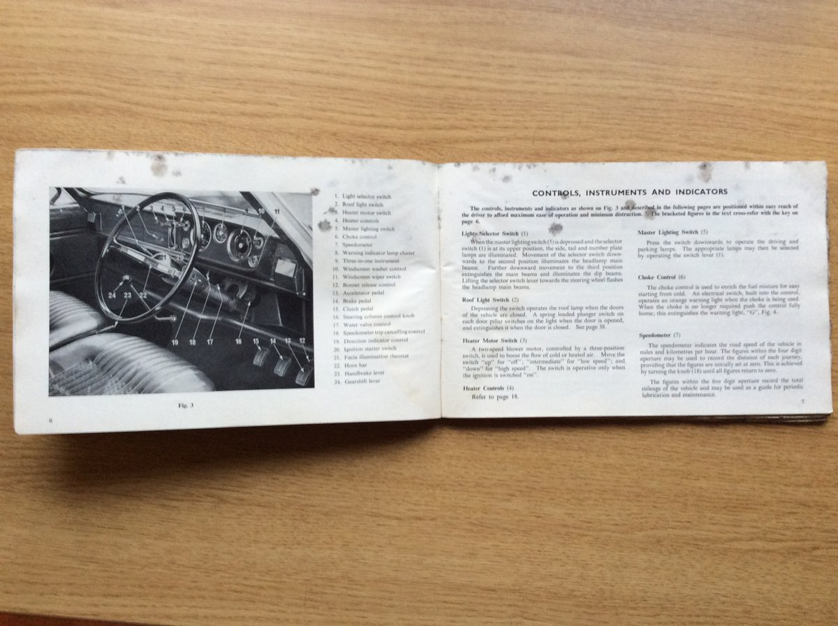 Triumph 1300 owners handbook For Sale (picture 2 of 3)
