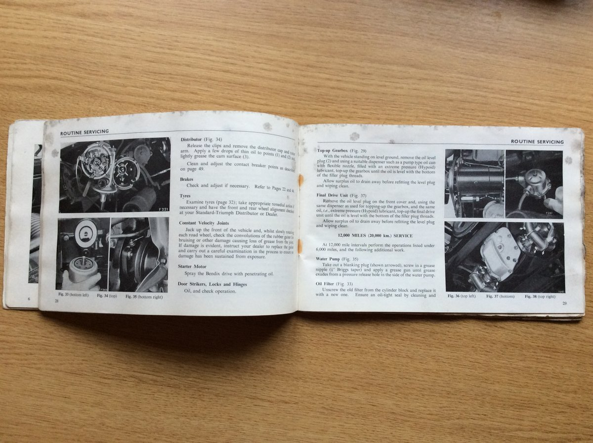 Triumph 1300 owners handbook For Sale (picture 3 of 3)