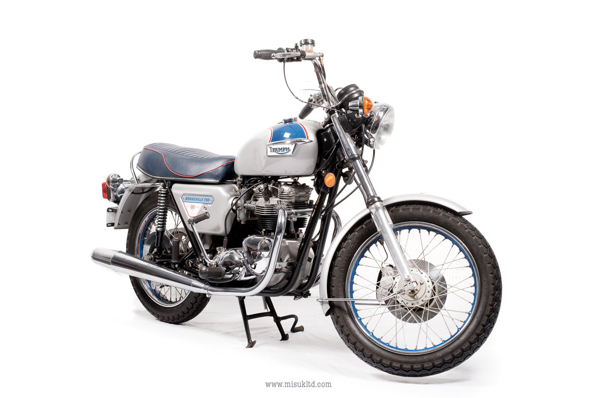 Picture of 1977 New old stock Triumph Bonneville For Sale