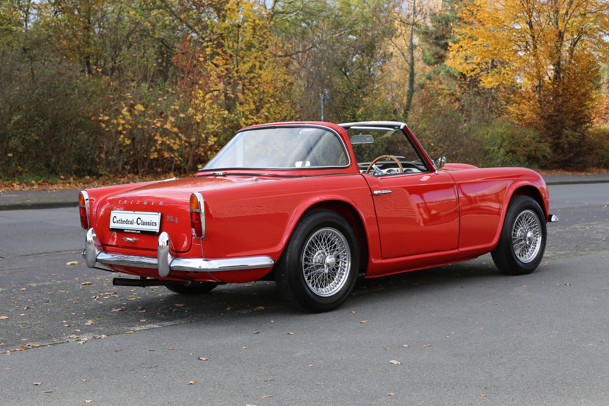 1962 An original Surrey TR4 - trophy winner from the nineties For Sale (picture 1 of 6)