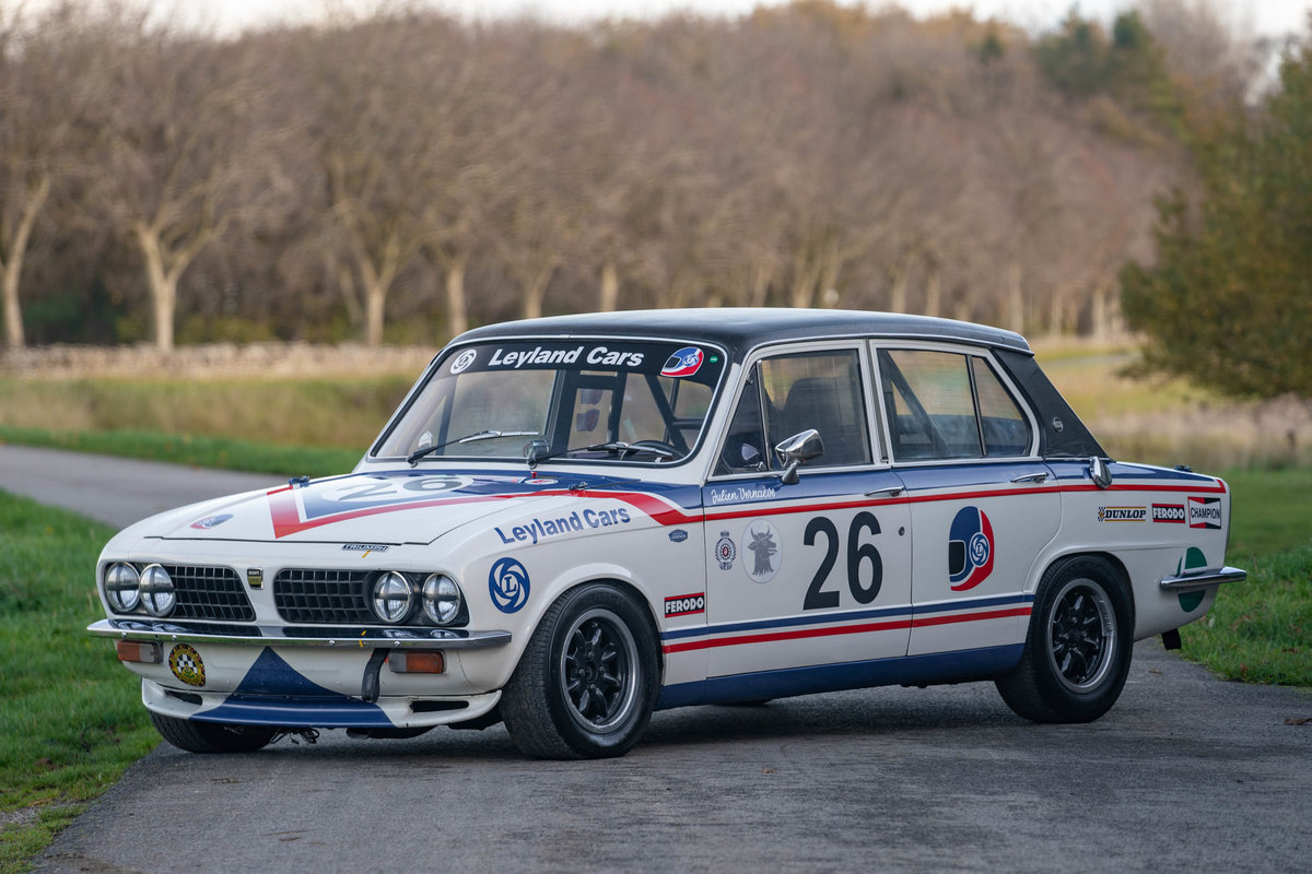 1976 Triumph Dolomite Sprint Gr.1 ex-Works For Sale (picture 1 of 6)