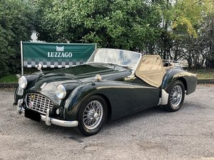 """Picture of 1955 Triumph TR3 """"small mouth"""" For Sale"""