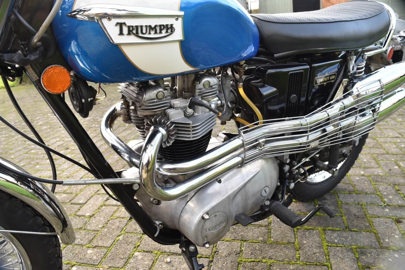 1972 Triumph Trophy TR6C US model SOLD (picture 5 of 6)