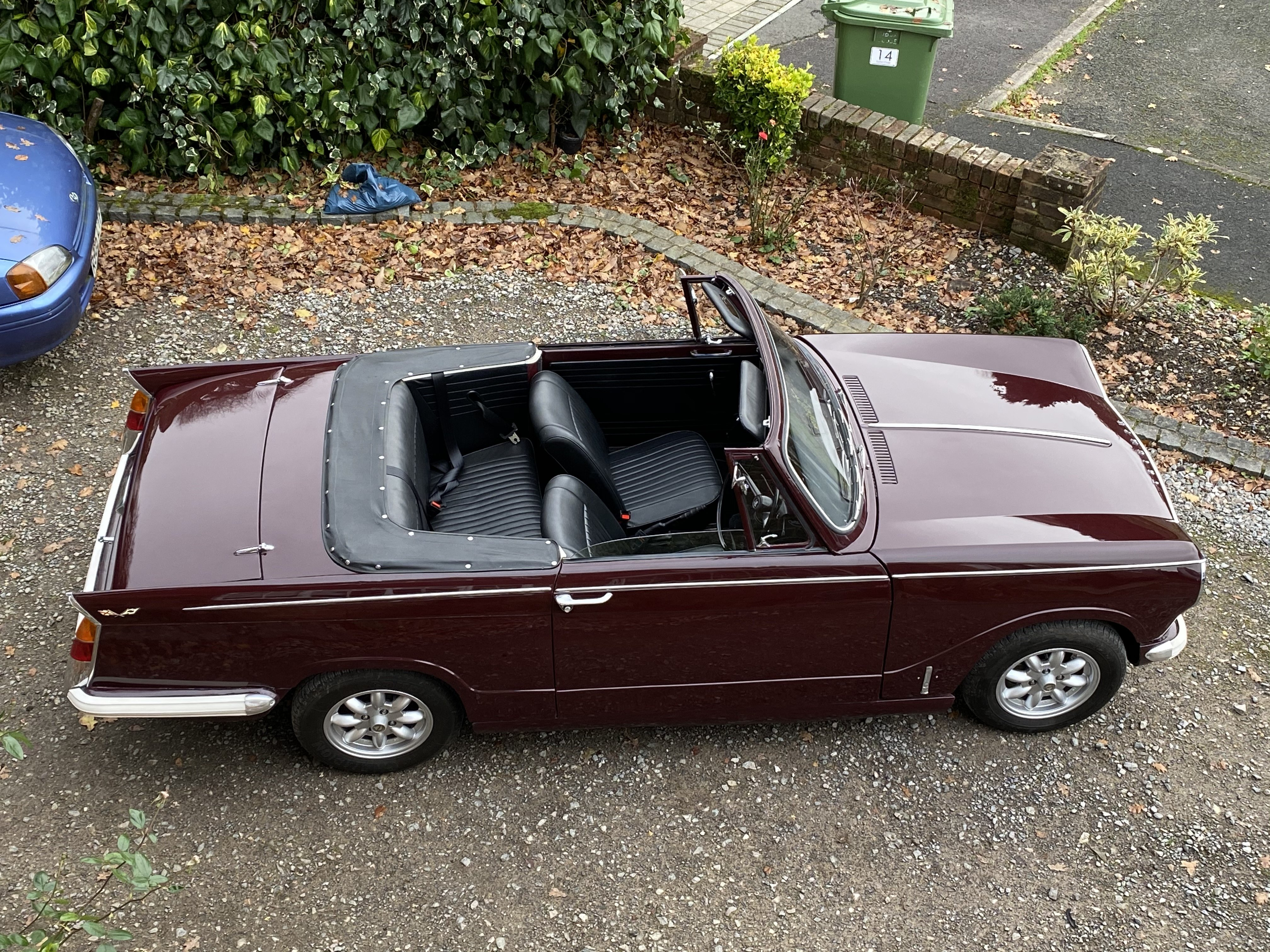 1969 Triumph Herald 13/60 Convertible For Sale (picture 1 of 6)