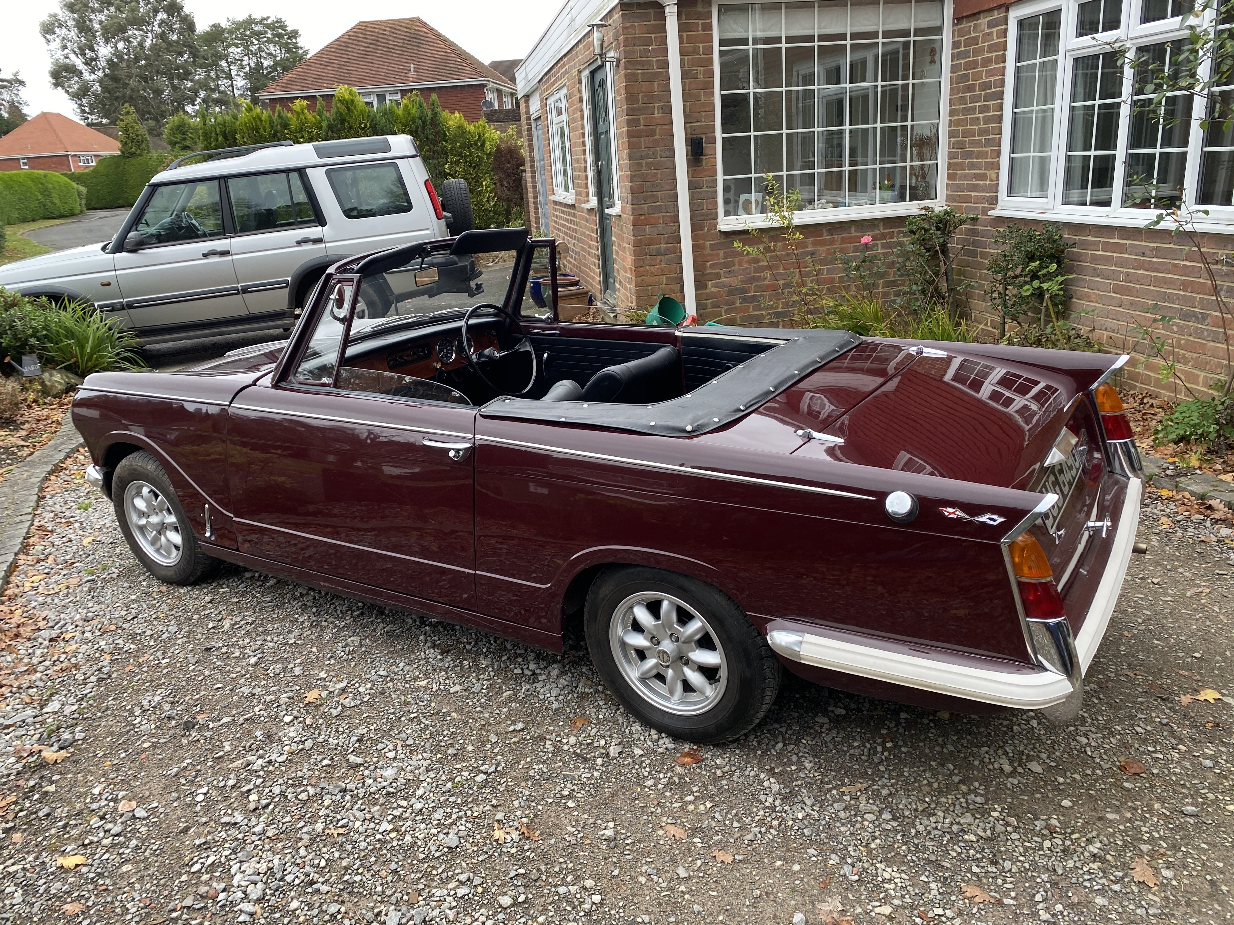 1969 Triumph Herald 13/60 Convertible For Sale (picture 2 of 6)