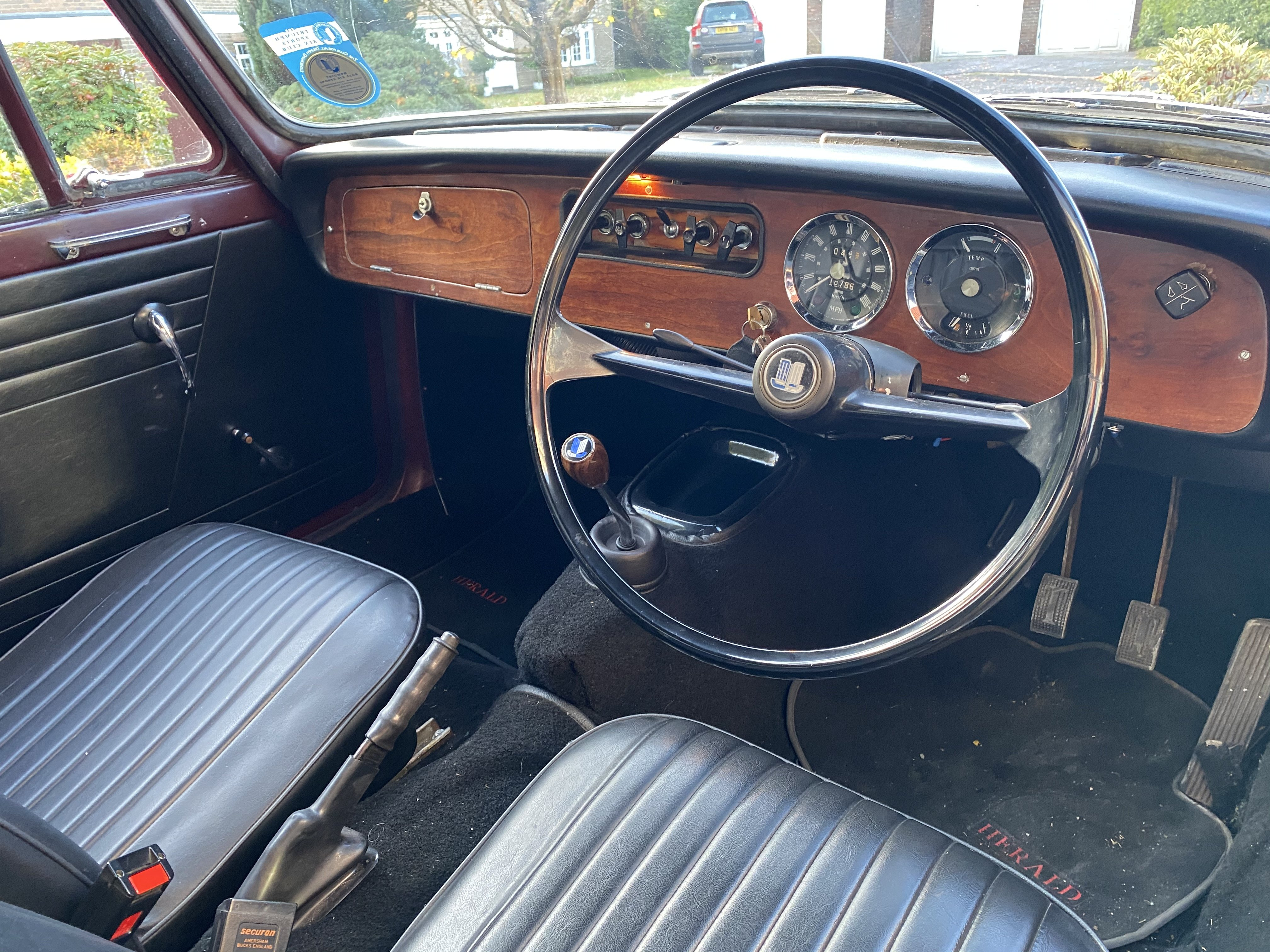 1969 Triumph Herald 13/60 Convertible For Sale (picture 5 of 6)
