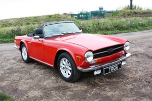 Picture of TR6 1972 150BHP FUEL INJECTED CAR WITH OVERDRIVE SOLD