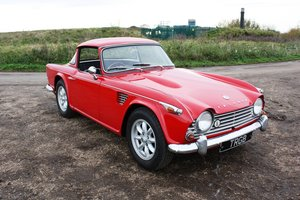Picture of TR4A 1967 WITH OVERDRIVE AND SURREY TOP SOLD