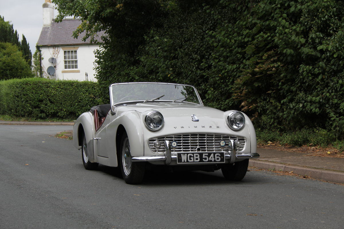 1959 Triumph TR3A, Beautifully aged restoration For Sale (picture 1 of 16)