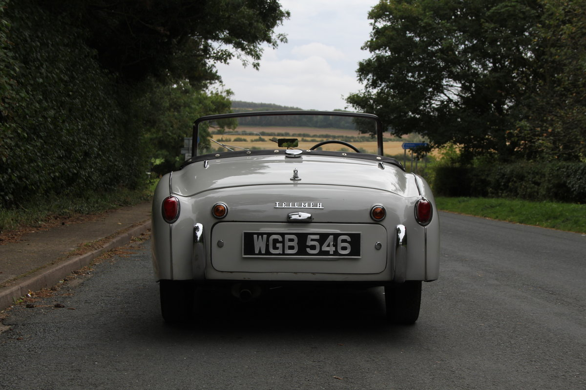 1959 Triumph TR3A, Beautifully aged restoration For Sale (picture 5 of 16)