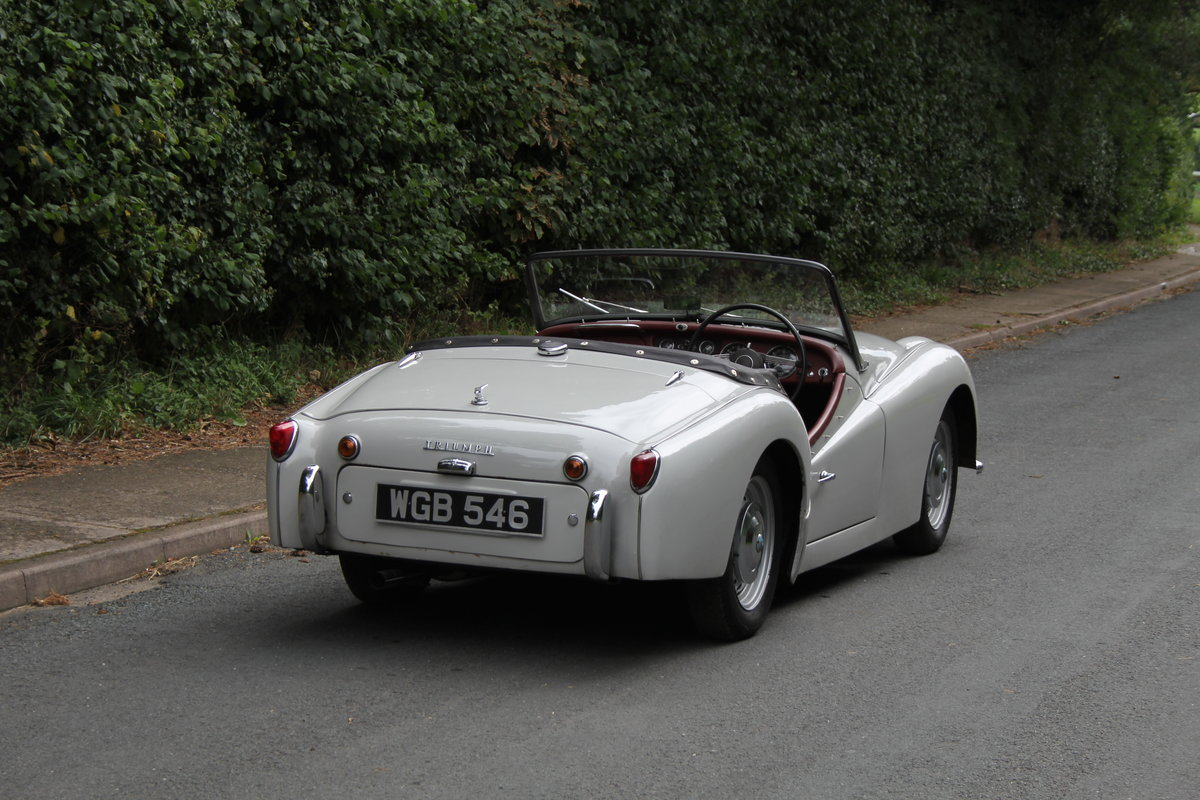 1959 Triumph TR3A, Beautifully aged restoration For Sale (picture 6 of 16)