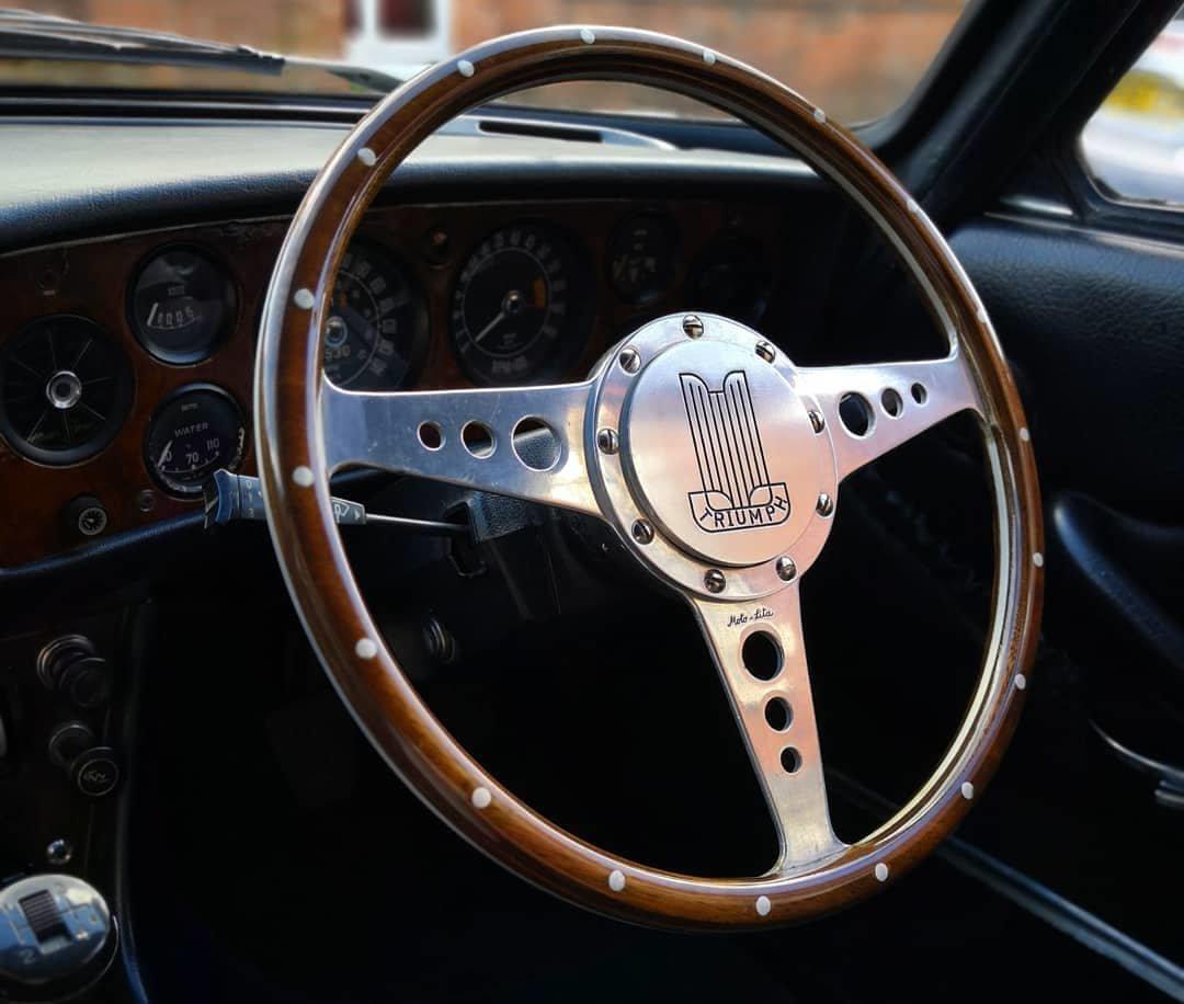 1972 Triumph Stag V8 (original) Sapphire Blue For Sale (picture 2 of 6)