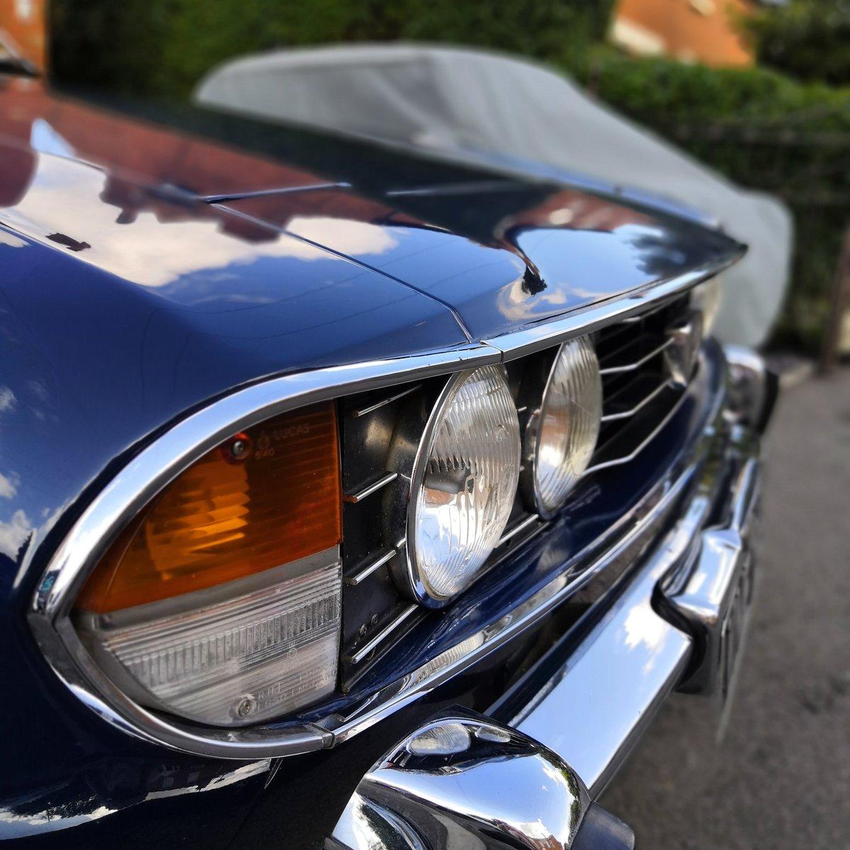 1972 Triumph Stag V8 (original) Sapphire Blue For Sale (picture 3 of 6)