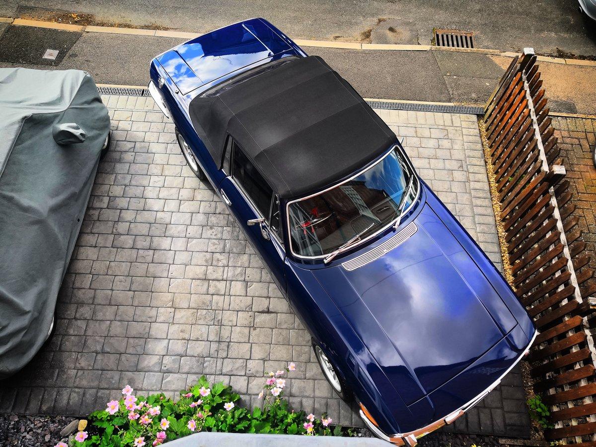1972 Triumph Stag V8 (original) Sapphire Blue For Sale (picture 5 of 6)