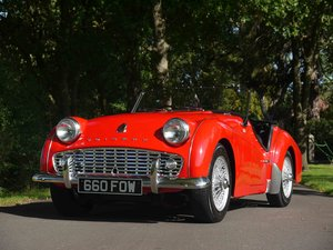 Picture of 1958 Triumph TR3A - Show winning roadster For Sale