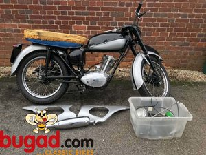 Triumph Tiger Cub 200cc, Rolling Project, Many New Parts