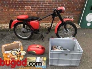 Triumph T20B Cub 1968 200cc, Project, Engine Partly Rebuilt