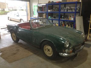 Picture of 1962 Early triumph spitfire mk i project