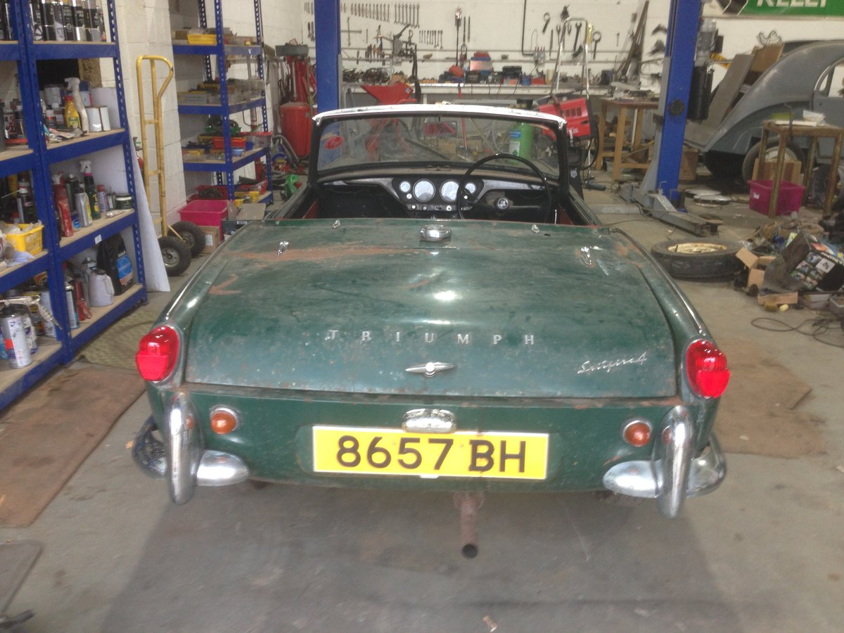 1962 Early triumph spitfire mk i project For Sale (picture 3 of 6)
