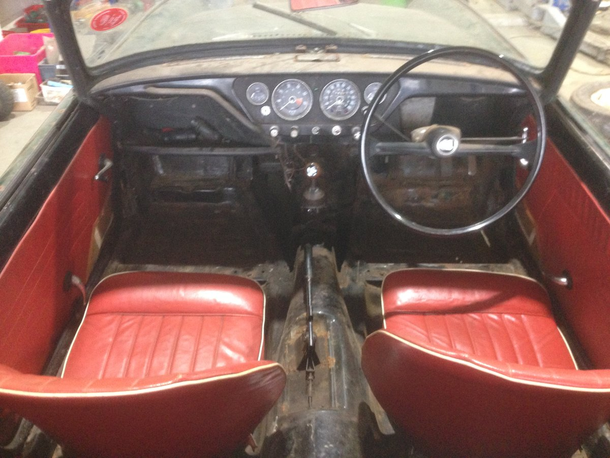 1962 Early triumph spitfire mk i project For Sale (picture 5 of 6)