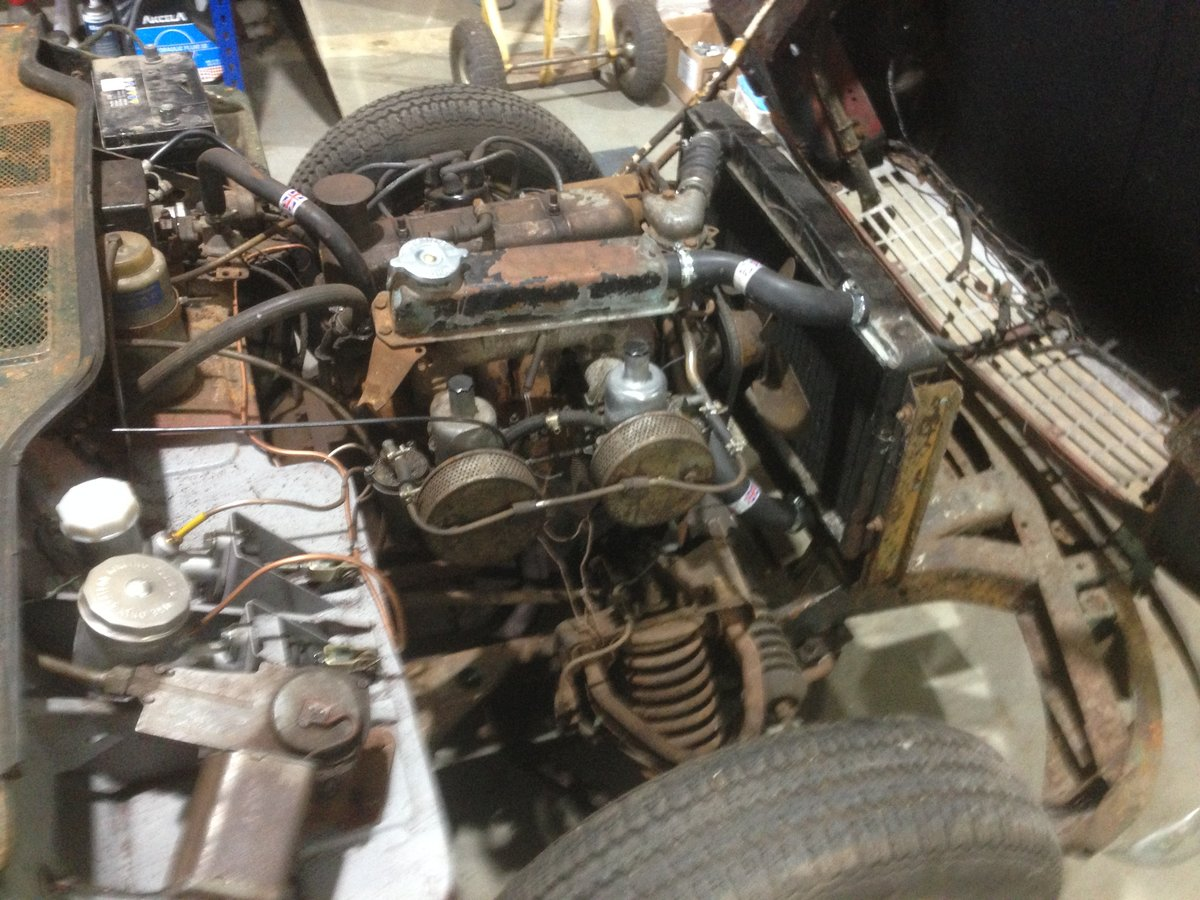 1962 Early triumph spitfire mk i project For Sale (picture 6 of 6)