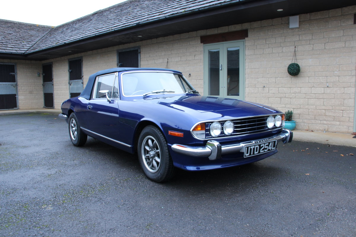 1972 TRIUMPH STAG MANUAL For Sale (picture 1 of 20)