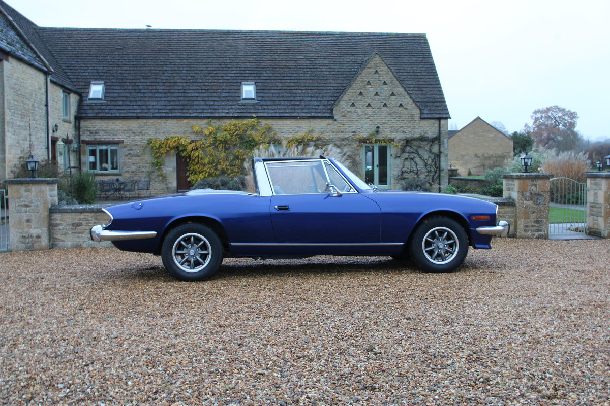 1972 TRIUMPH STAG MANUAL For Sale (picture 6 of 20)