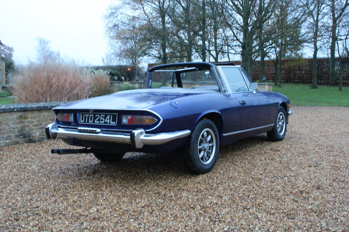 1972 TRIUMPH STAG MANUAL For Sale (picture 7 of 20)