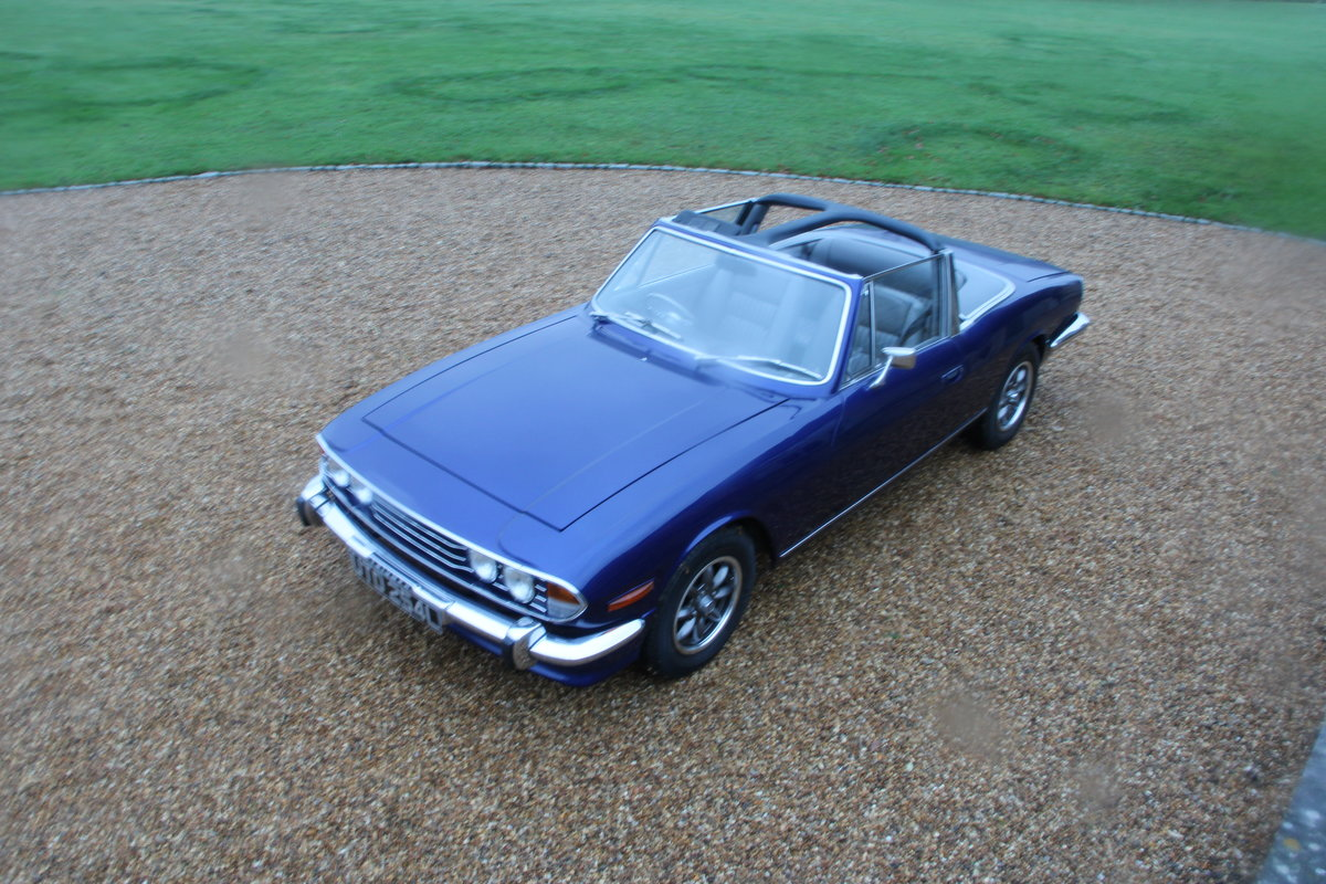1972 TRIUMPH STAG MANUAL For Sale (picture 12 of 20)