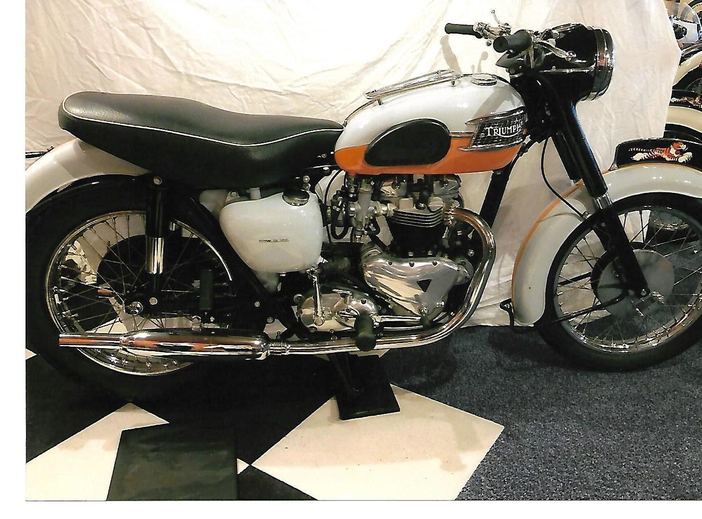 Picture of 1959 Triumph Bonneville Tangerine Dream For Sale