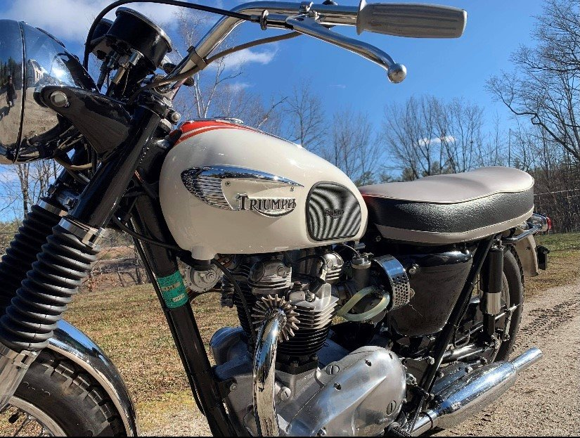 1966 Triumph Bonneville T120R 650cc For Sale (picture 1 of 6)