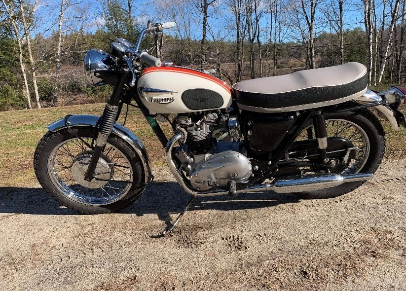 1966 Triumph Bonneville T120R 650cc For Sale (picture 5 of 6)