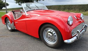 Picture of 1958 Triumph TR3A With Overdrive and Rack And Pinion Steerin SOLD