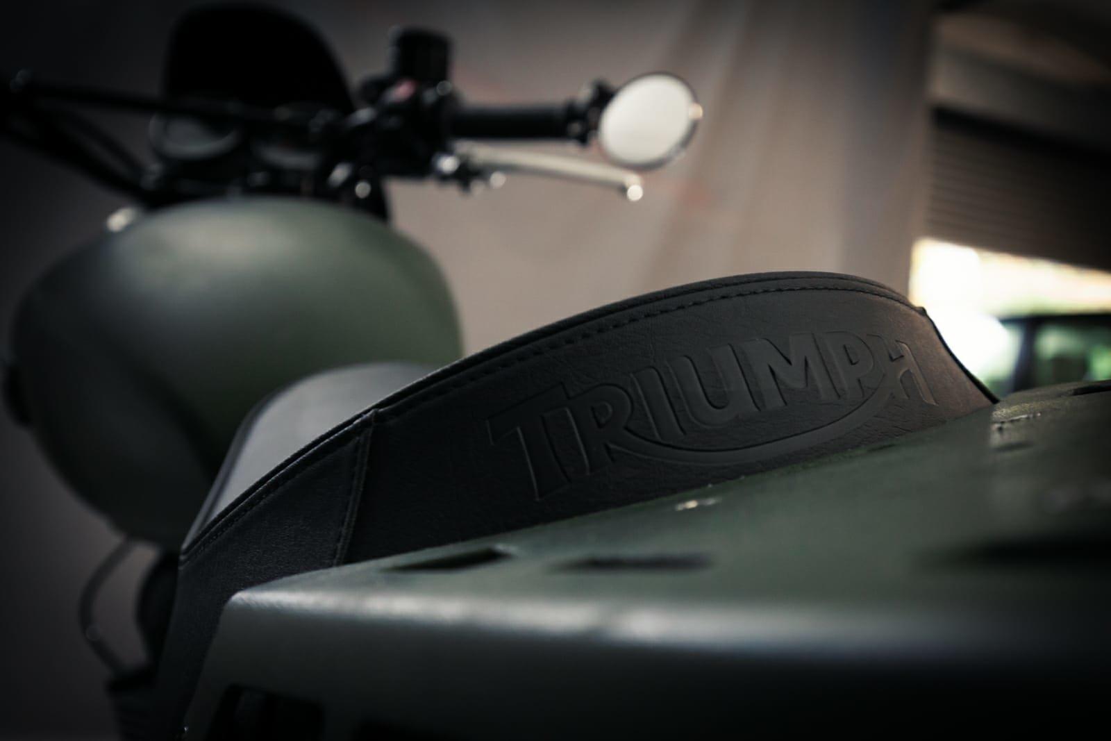 2015 Triumph Bonneville Scrambler Mcqueen tribute For Sale (picture 4 of 6)