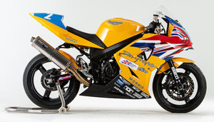 Triumph ValMoto 599cc Supersport Racing Motorcycle
