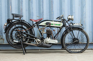 Picture of 1925 Triumph 494cc Model P Motorcycle Combination For Sale by Auction