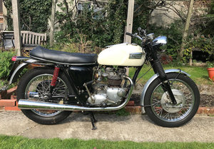 Picture of 1969 Triumph 650cc TR6P Police Motorcycle For Sale by Auction