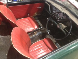 Early TRIUMPH SPITFIRE Mk I Project
