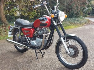 1978 TRIUMPH BONNEVILLE T140E. MATCHING NUMBERS NICE CLASSIC