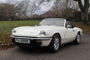 Picture of Triumph Spitfire 1500 1981 - To be auctioned 26-03-21 For Sale by Auction