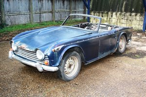 Picture of TR250 1968 ROYAL BLUE FOR RESTORATION SOLD