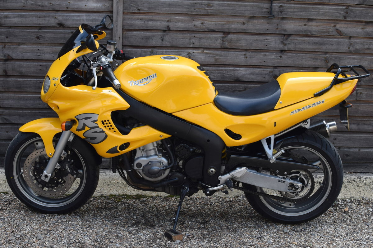Triumph Sprint RS 955i (20000 miles, MOTd July 2021) 2001 Y  For Sale (picture 7 of 12)