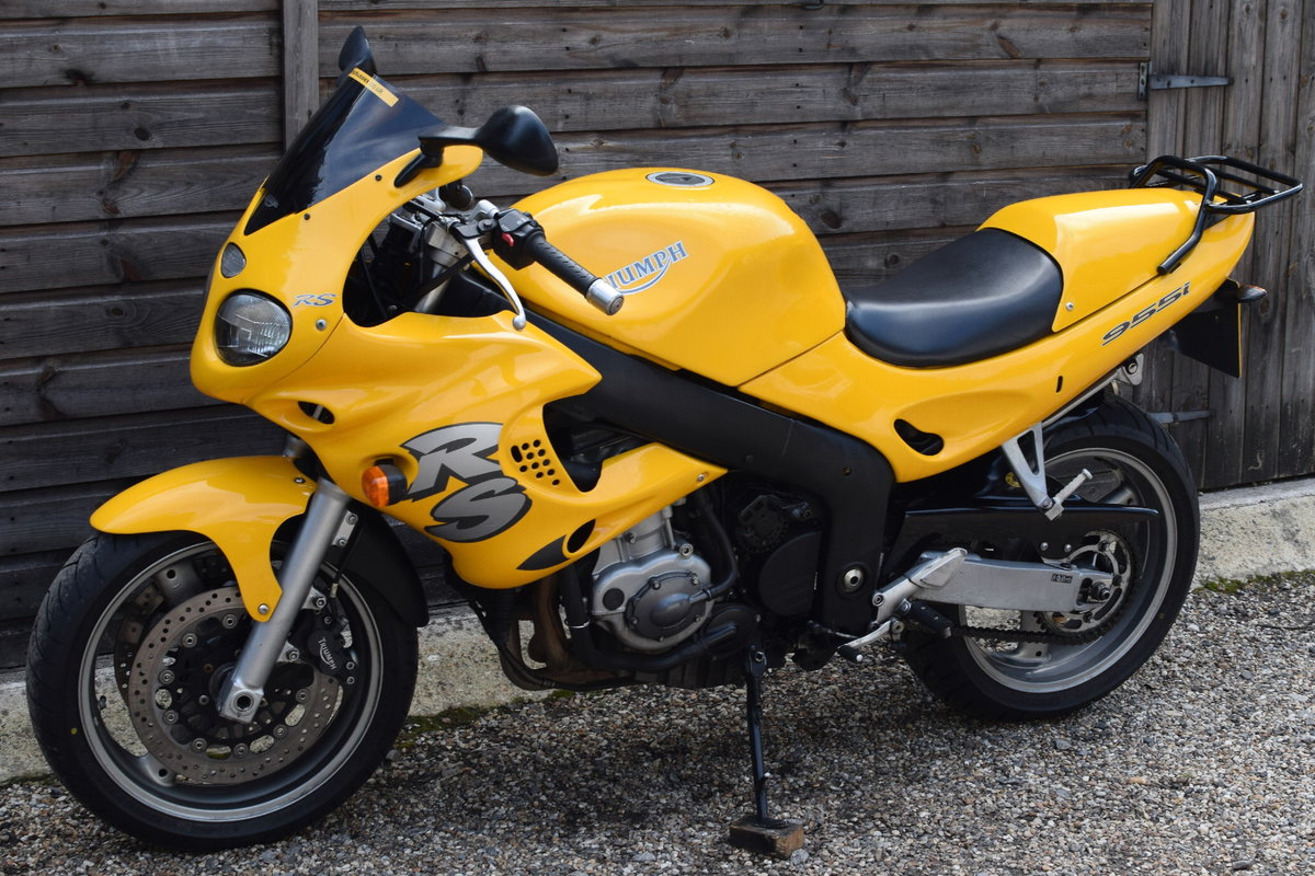 Triumph Sprint RS 955i (20000 miles, MOTd July 2021) 2001 Y  For Sale (picture 8 of 12)